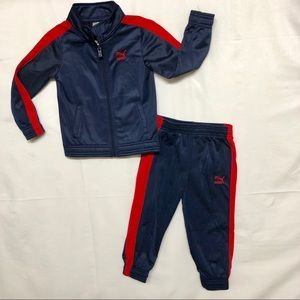 Puma Sweater and Pants Set Boys 3T